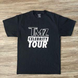 TMZ Celebrity Tour  TShirt Mens medium Black
